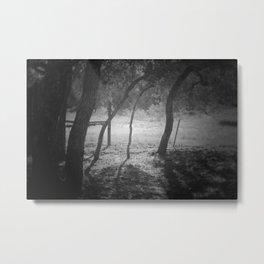 cottage sunrise Metal Print