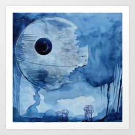 That's no moon.  Art Print