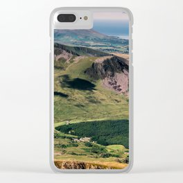Snowdon Moutain View Clear iPhone Case