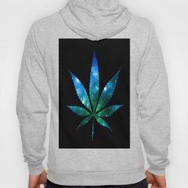 Weed : High Times Blue Green Galaxy Hoody