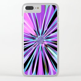 Rotating in Circles Series 07 Clear iPhone Case