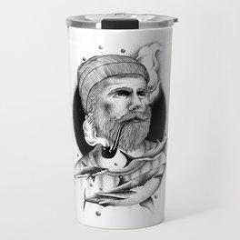 THE MAN AND THE SEA Travel Mug