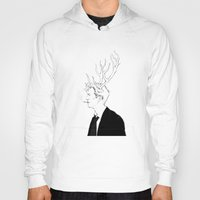true detective Hoodies featuring True Detective by Burcu Aycan