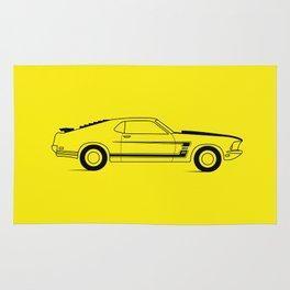 Mustang Boss Rug