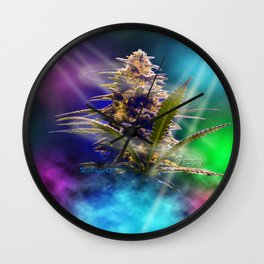 WetPaint420, Cannabis In The Club Wall Clock