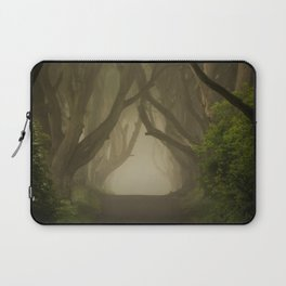 Mysterious alley at dawn Laptop Sleeve