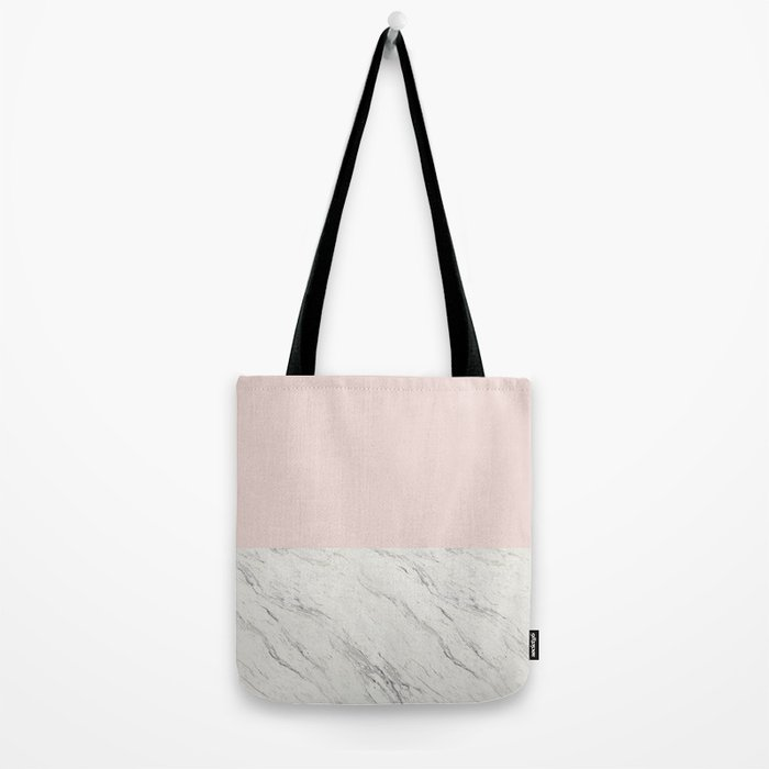 Moon Marble Tote Bag
