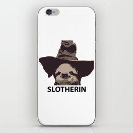 Slotherin (Slytherin + Sloth) iPhone Skin