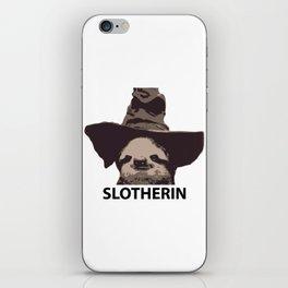 Slotherin (Slytherin + Sloth) iPhone Skin