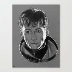 Planet Earth is Blue - Doctor Who Canvas Print
