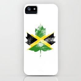 Jamaica/Canada iPhone Case