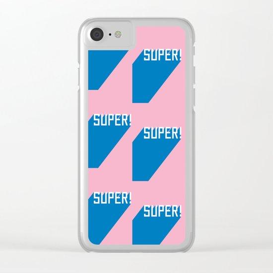 Super! Clear iPhone Case