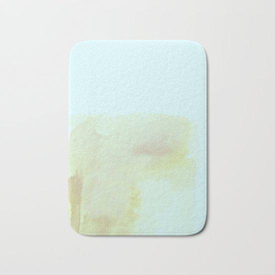 Abstract #watercolor Bath Mat