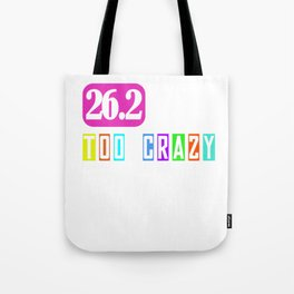 26.2 Marathon Running I Gift Idea for Marathoner Tote Bag