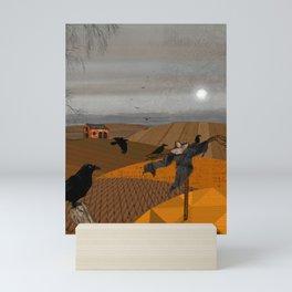 Autumn Fields Mini Art Print