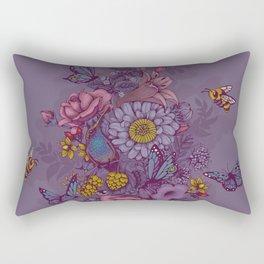 Beauty (eye of the beholder) Rectangular Pillow