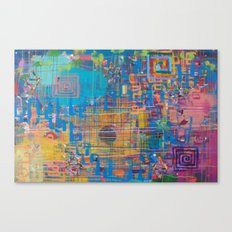 It's the End, It's the Beginning Canvas Print