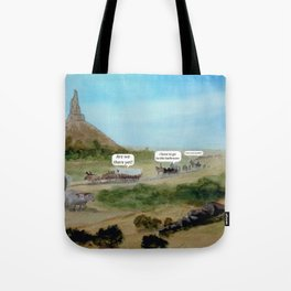 Travels with Kids Oregon Trail Theme Tote Bag