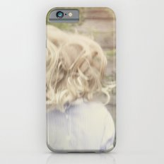Jumping girl iPhone 6s Slim Case