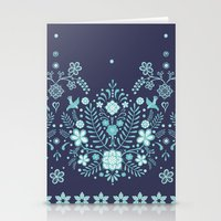 bali Stationery Cards featuring Bali Bandana by November Tigerlilly