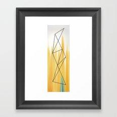 Geo - 2 Framed Art Print
