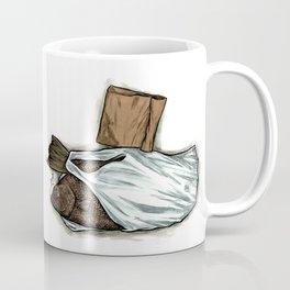 Flatfish and mushrooms. Coffee Mug
