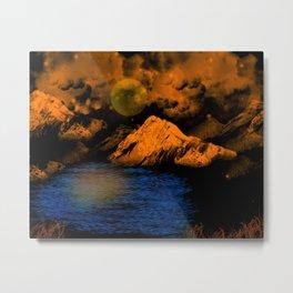 Magical Mountain Metal Print