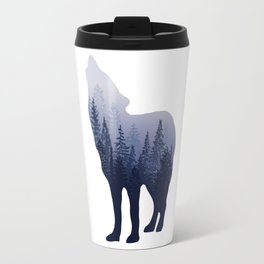 Wolf Forest Travel Mug