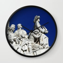 monument of discover Wall Clock