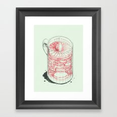 Coffee Jet Framed Art Print