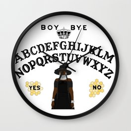 Queen Bey Ouija Board Wall Clock