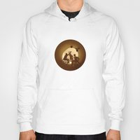 basketball Hoodies featuring Basketball by Anastassia Elias