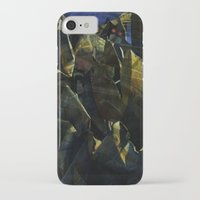 titan iPhone & iPod Cases featuring titan by Bamboo blue