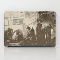 boardwalk empire iPad Cases featuring boardwalk by Nechifor Ionut