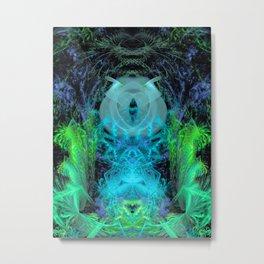 Angel of Orion (Aqua) Metal Print