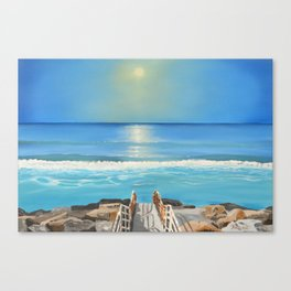 Aberavon Beach Canvas Print