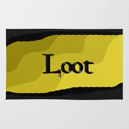 Loot: Color Gold Rug