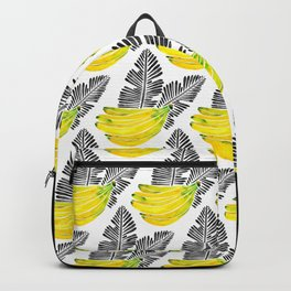 Banana Bunch – Yellow & Black Palette Backpack
