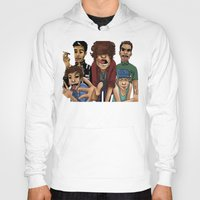 cargline Hoodies featuring Gorillaz 1D by cargline