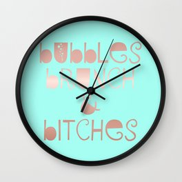 Sunday Queens Wall Clock