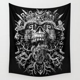 Aztec Skull Wall Tapestry