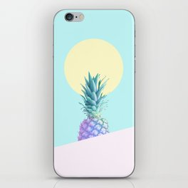 Tropical Pineapple Sunkissed #decor #popart #minimalist iPhone Skin