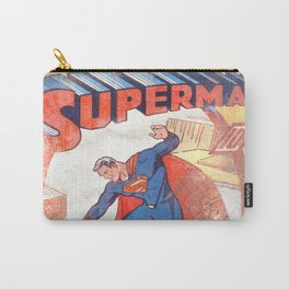 Superman Poster Carry-All Pouch