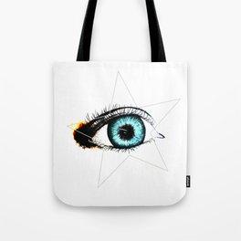 Looking In #3 - Original sketch to digital art Tote Bag