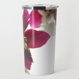 Flower impression Travel Mug