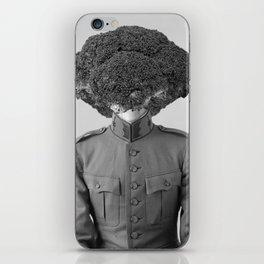 Soldier Broccoli. 1901. iPhone Skin