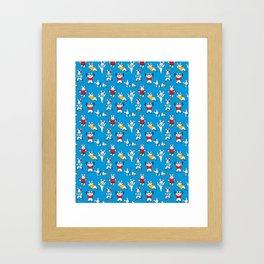Chubby Bunnies Framed Art Print
