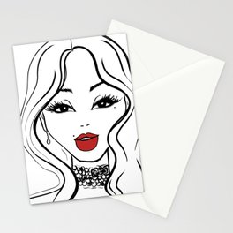 Visage II Stationery Cards