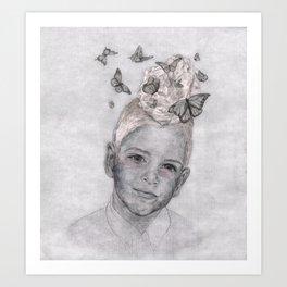Keepers of the Swarm : Butterflies - Katrina Niswander Art Print