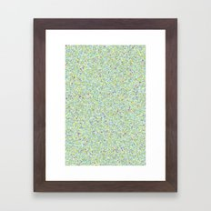 Small Mountains Framed Art Print